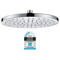 Overhead Rain Circular Shower Head in Chrome 10in