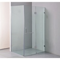 Frameless Walk In Glass Shower Screen 1200x900mm