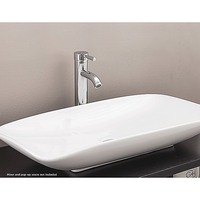 Modern Bathroom Basin Counter Vessel Ceramic Sink