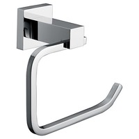 Chrome Toilet Paper Holder Square