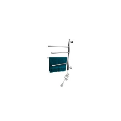 4 Rail Steel Heated Electric Towel Rack Rails 50W