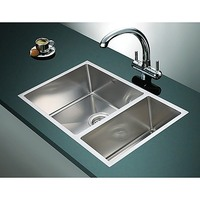 Undermount Double Stainless Steel Sink 715x440mm
