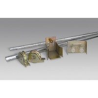 Heavy Duty Outdoor Sliding Gate Door Hardware Kit