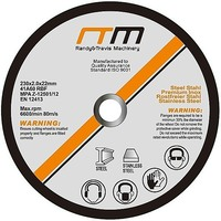 230mm Cutting Disc Wheel for Angle Grinder x50