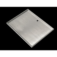 Stainless Steel BBQ Grill Hot Plate 42.5 X 32cm