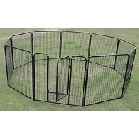 Pet Outdoor Run Exercise 10 Panel Playpen 80cm