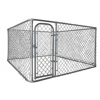Small Dog Run Animal Pet Enclosure Fencing 2.3mSq