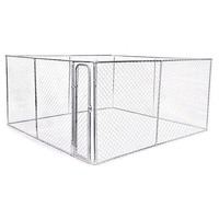 Large Dog Run Animal Pet Enclosure Fencing 4 x 4m