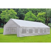 Pop Up Party Gazebo Marquee w/ 4 Walls 12m x 6m