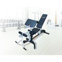 Flat Incline Decline Bench Press with Leg Extension