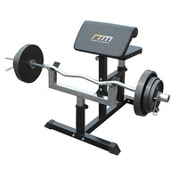 Adjustable Bicep Barbell Curl Weight Bench