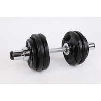 Olympic Dumbell Handles Pair Bearings Weight Bars