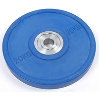 Pro Olympic Rubber Bumper Weight Plate (20kg)