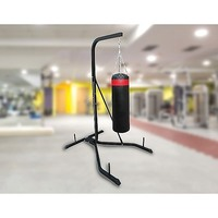 Steel & PU Leather Fitness Punching Bag & Frame