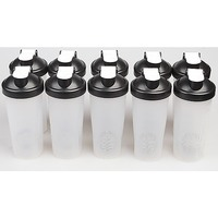 10x Spill-Proof Protein Shaker Bottle w Whisk Ball
