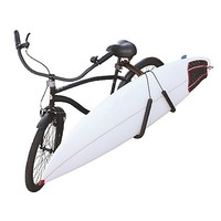 Seat Attached Surfboard Carrier Rack for Bike