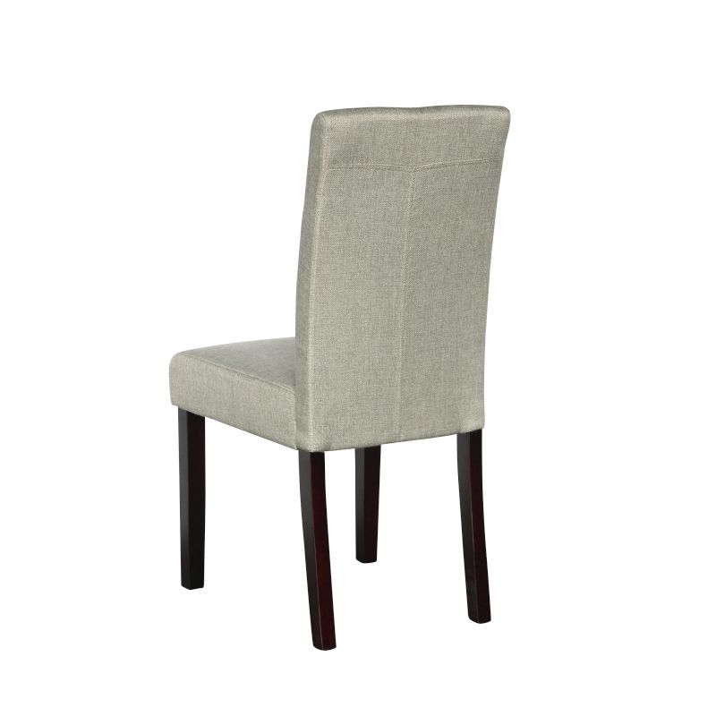 furniture dining furniture dining chairs sets of 2 2x high back fabric