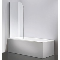 Frameless Pivot Glass Bath Panel Screen 800x1400mm