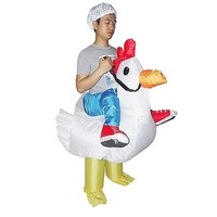 Chicken Dress Inflatable Suit Fan-Operated Costume