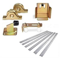 Sliding Gate Hardware Accessories Kit with 6m Track