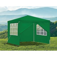 Outdoor Portable Gazebo Marquee Tent in Green 3x3m