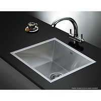 Square Stainless Steel Kitchen Sink 440x440mm