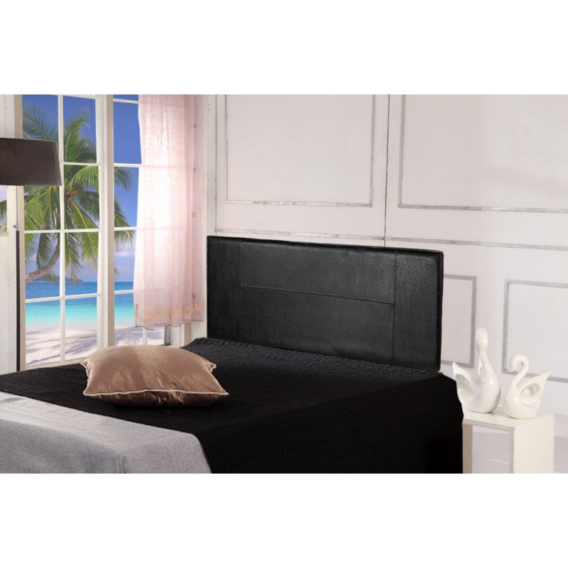 Queen Size Pu Leather Bedhead Headboard In Black Buy