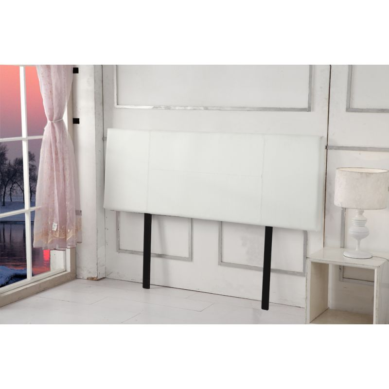 Queen Size Pu Leather Bedhead Headboard In White Buy