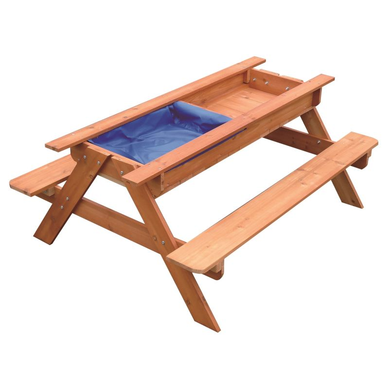 Kids Toddler Wooden Sand Water Picnic Play Table Buy Kids Picnic Tables