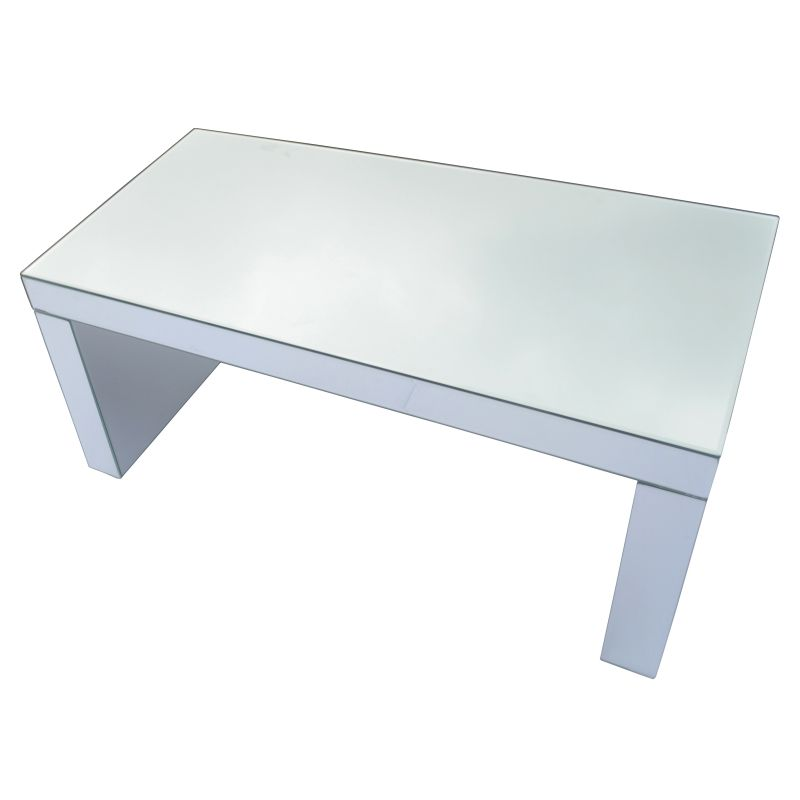 Rectangular Beveled Mirror Mirrored Coffee Table Buy Coffee Tables
