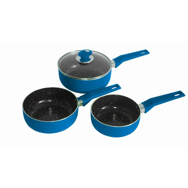 Ceramic Stone Coated Cooking Pot Set Buy Home Amp Garden