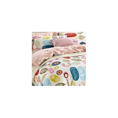 Floral King Cotton Doona Quilt Cover Set 250TC