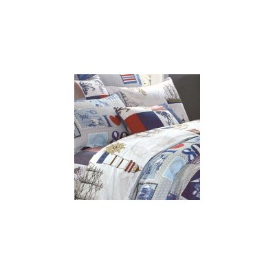 Decade Queen Cotton Doona Quilt Cover Set 250TC