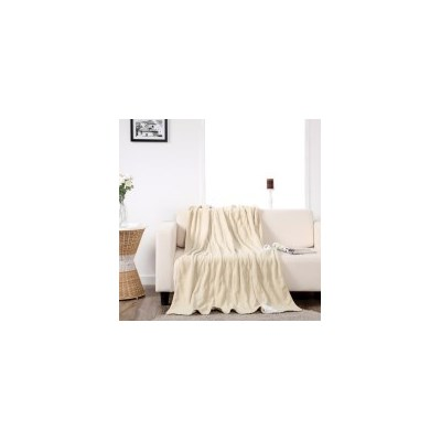 Dreamaker Heated Throw Electric Blanket - Cream