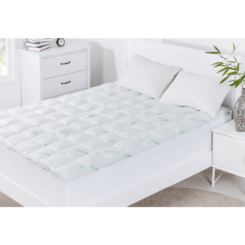Super King Bamboo Mattress Topper 1000gsm Buy King Size Mattress