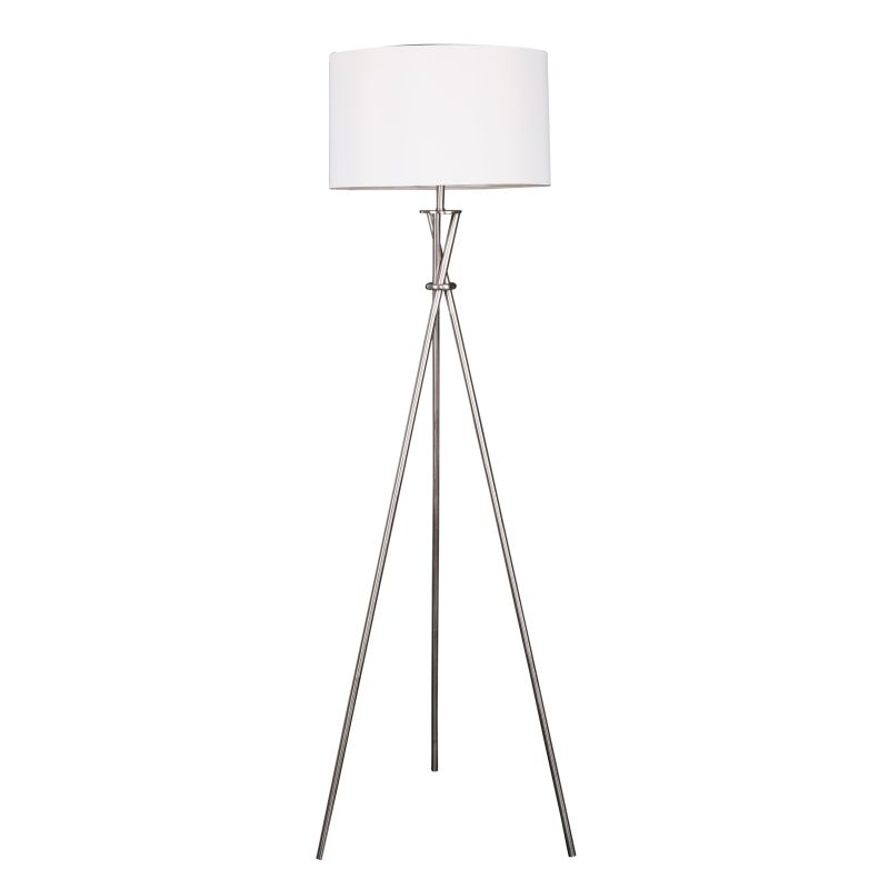 Modern Metal Tripod Floor Lamp White Shade Buy Lamps