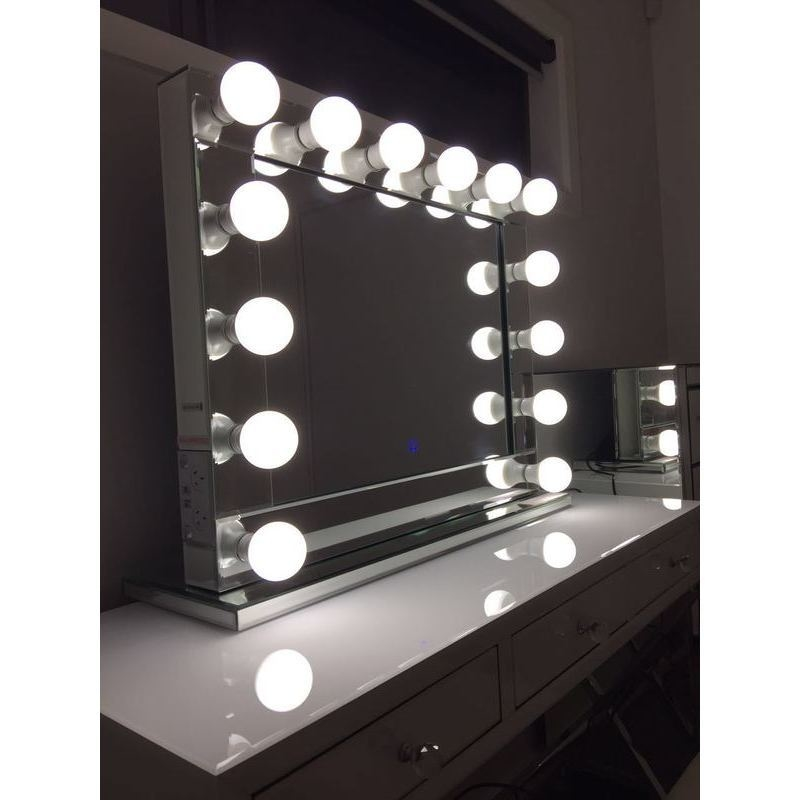 Hollywood Vanity Makeup Mirror With Dimmable Lights Buy Makeup