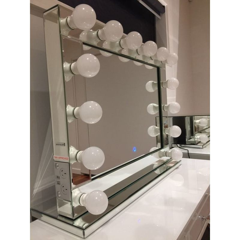 Hollywood Vanity Makeup Mirror With Dimmable Lights Buy