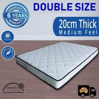 Double Size Luxury Pocket Spring Mattress 20cm