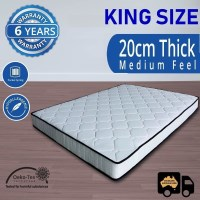 Luxury Pocket Spring King Mattress  20cm