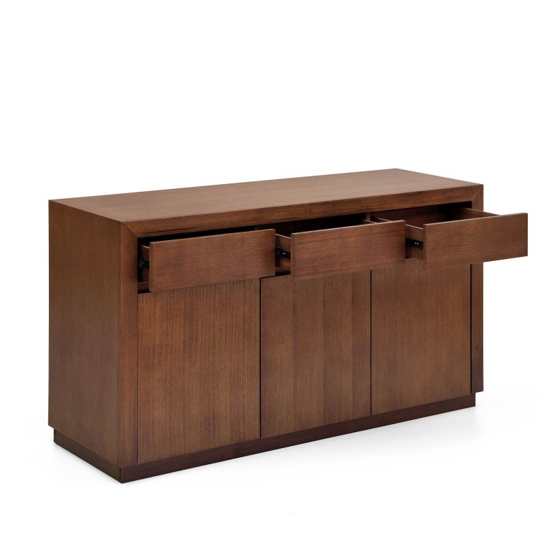 toronto buffet sideboard 3 drawers and doors buy. Black Bedroom Furniture Sets. Home Design Ideas