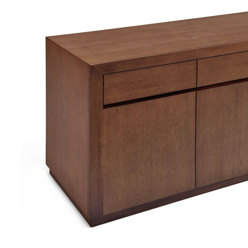 toronto buffet sideboard 4 doors storage cabinet 2m buy timber sideboards. Black Bedroom Furniture Sets. Home Design Ideas