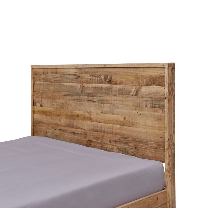 Portland Queen Rustic Recycled Timber Bed Frame Buy
