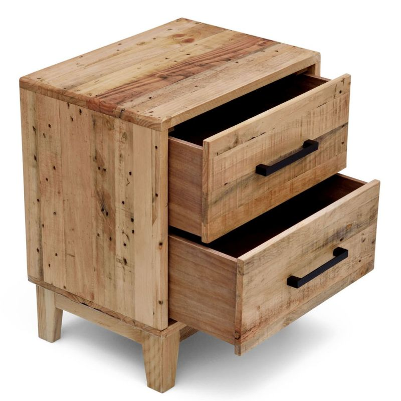 Portland recycled timber bedside table night stand buy Reclaimed furniture portland