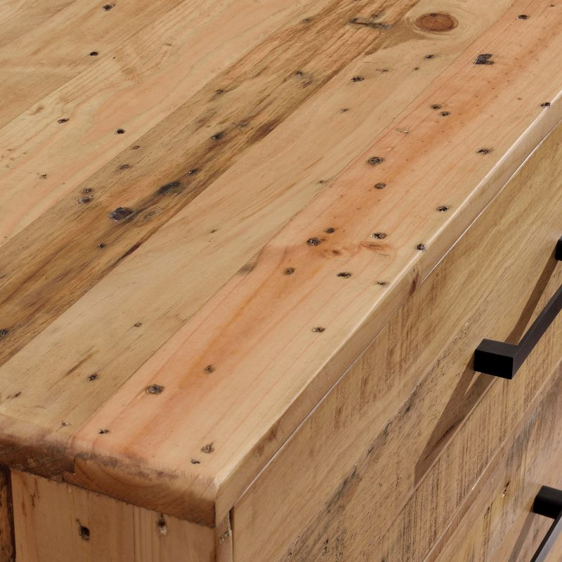 Portland recycled timber chest of 4 drawers tallboy buy for Reclaimed wood portland or