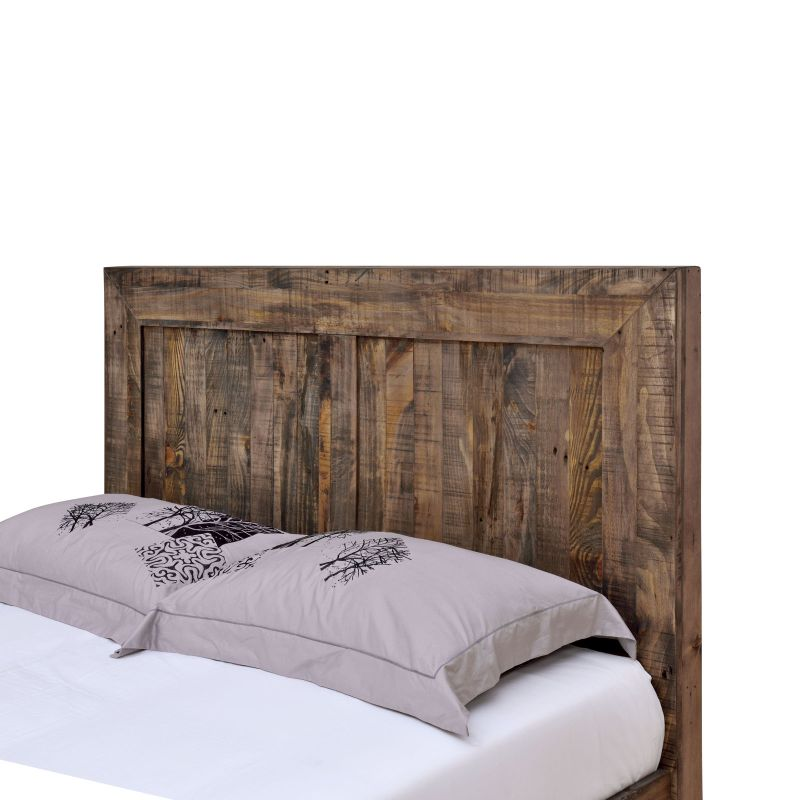 Boston King Bed Frame Rustic Pine Recycled Timber Buy