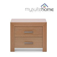 Madison Tasmanian Oak Veneer Bedside Table