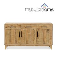 Portland Sideboard Buffet in Recycled Pine Timber