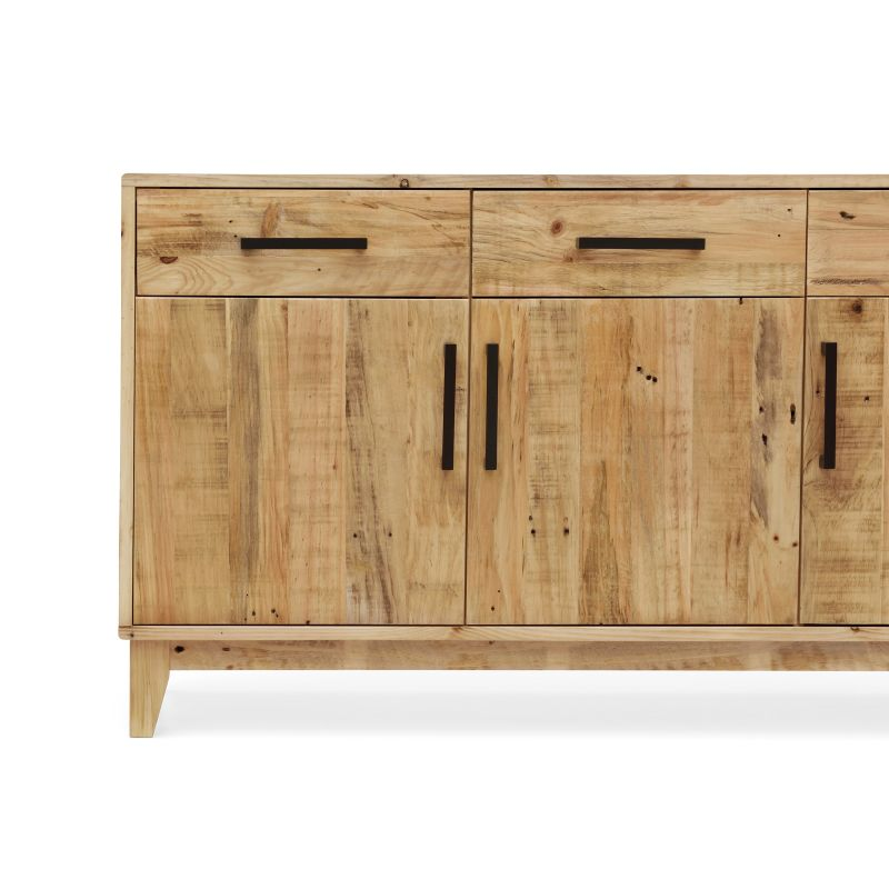 Portland sideboard buffet in recycled pine timber buy Reclaimed furniture portland