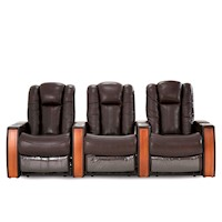 Executive Wide Seat 3 Seater Electric Recliner